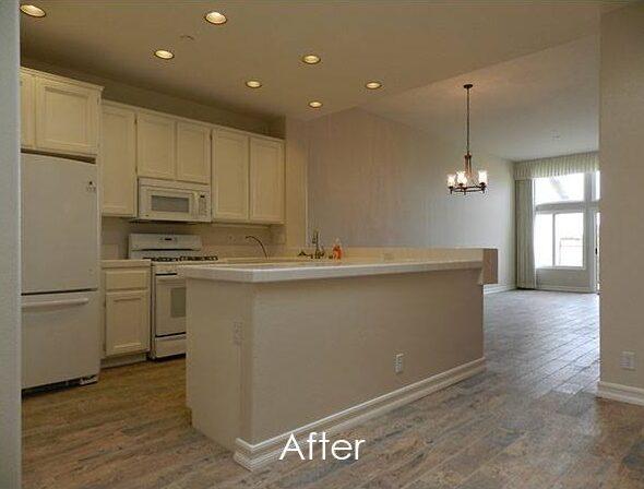Tile Floor - After