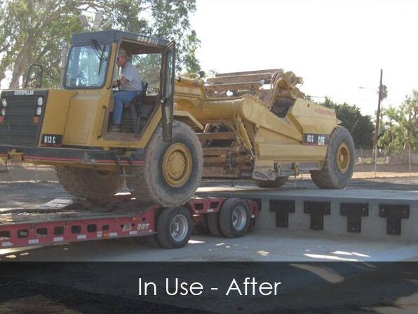 Commercial Loading Ramp - In Use - After