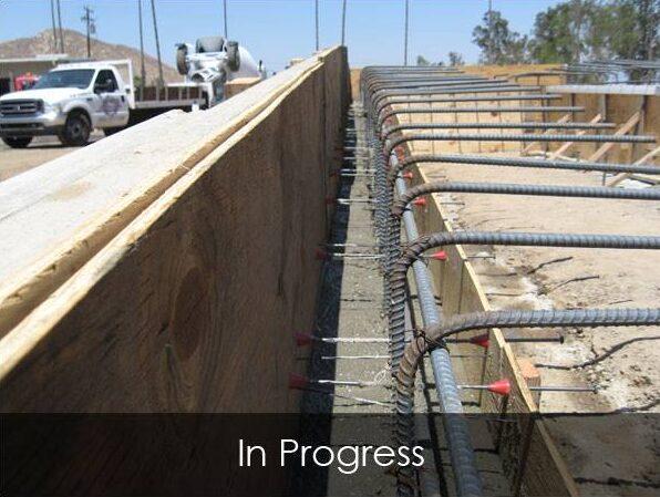 Commercial Loading Ramp - In Progress