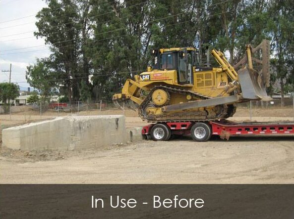 Commercial Loading Ramp - In Use - Before